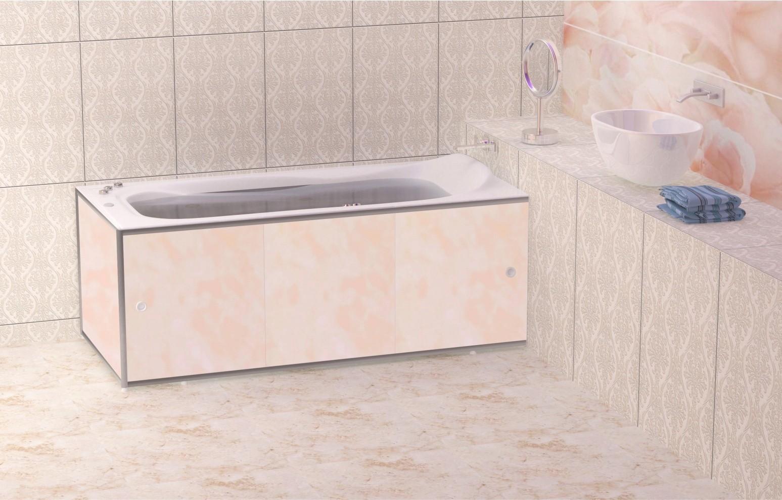Алюминиевый экран под ванну метакам премиум а