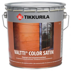 Антисептик Tikkurila VALTTI COLOR SATIN EC 0,9л