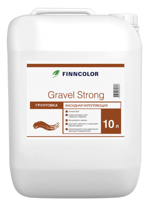 Грунтовка Tikkurila Finncolor GRAVEL STRONG фасадная 10 л