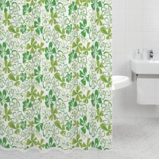 Штора для ванн Milardo 620P180M11 Jungle Flowers (green)