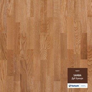 Паркетная доска Tarkett Samba Oak Brandy Cl Tl1123 Дуб бренди