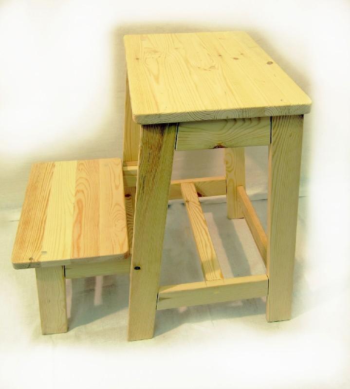 Стремянка деревянная 2 ступени своими руками
