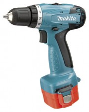 Дрель аккумуляторная Makita 6271 DWPLE (12 В, БЗП.10мм, 2скор, 30нм, 1,5кг, 2акк.1,3Ач.+ ФОНАРЬ, кейс)