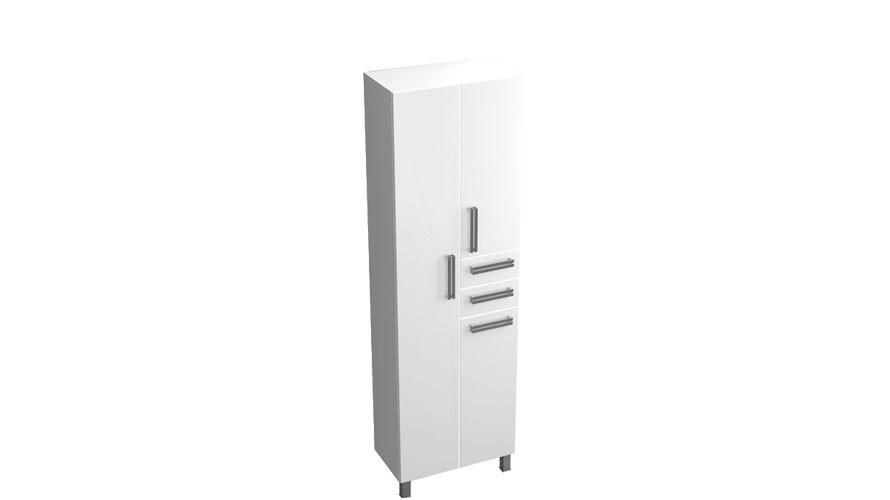 шкаф пенал в ванную 60 см